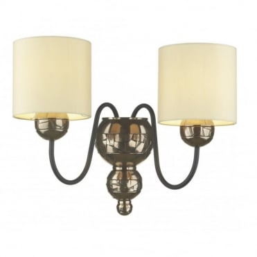 GARBO - Double Bronze Wall Light