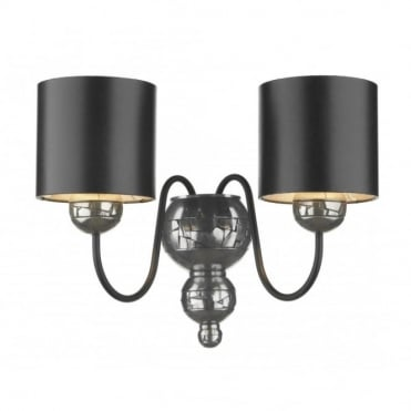 GARBO - Pewter Double Wall Light