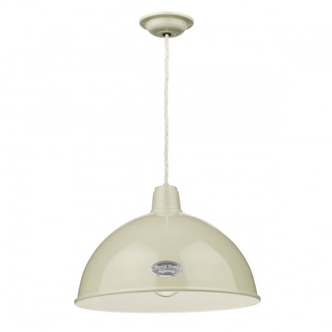 David Hunt Lighting GROUCHO - 1 Light Ceiling Pendant French Cream