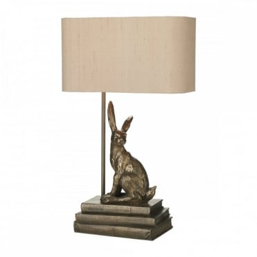 HOPPER - Table Lamp Bronze Base With Shade