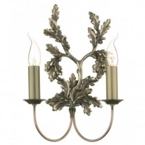 LEAF - Twin Bronze Wall Light