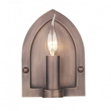 LINDISFARNE - Copper Period Wall Light