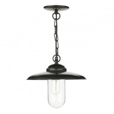 NAUTILUS - Exterior Pendant Old Iron Porch Light Ip43