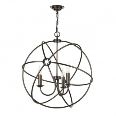 ORB - 3 Light Ceiling Pendant Antique Copper