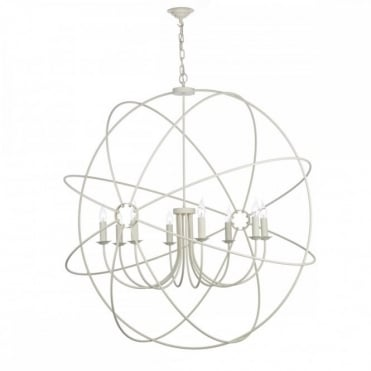 ORB - 8 Light Ceiling Pendant Cream