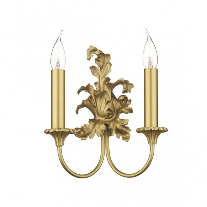 David Hunt Lighting ORMOLU - Traditional Antique Gold Wall Sconce