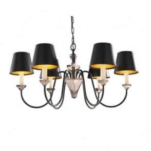 OTHELLO - Black Bronze Ceiling Light
