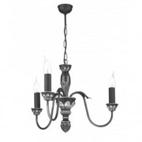 OXFORD - Antique Pewter Ceiling Light