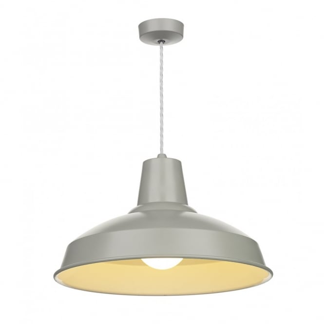 David Hunt Lighting RECLAMATION - Grey Ceiling Pendant