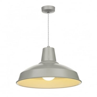 RECLAMATION - Grey Ceiling Pendant