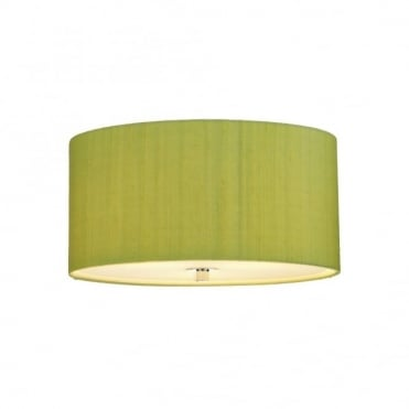 RENOIR - Shamrock Green Silk Shade Only (40Cms)