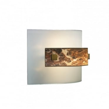 SAVOY - Dark Marble Wall Light