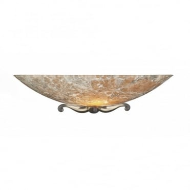SAVOY - Light Marble Glass Wall Washer Wall Light