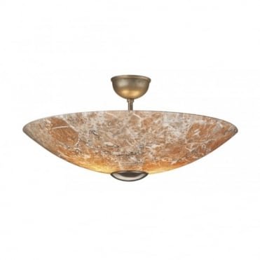SAVOY - Marbled Glass Ceiling Light