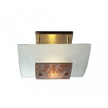 SAVOY - Marbled Low Ceiling Light