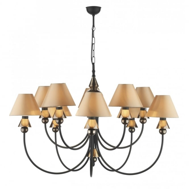 David Hunt Lighting SPEARHEAD - Black Bronze Ceiling Light