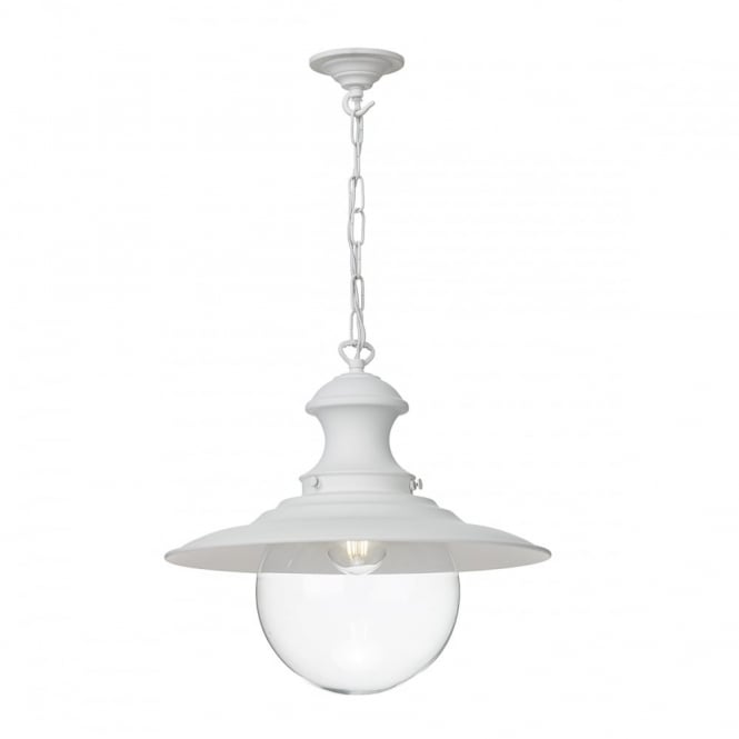 David Hunt Lighting STATION - Lamp White Ceiling