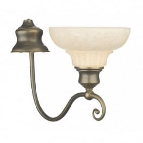 STRATFORD - Aged Brass Wall Light