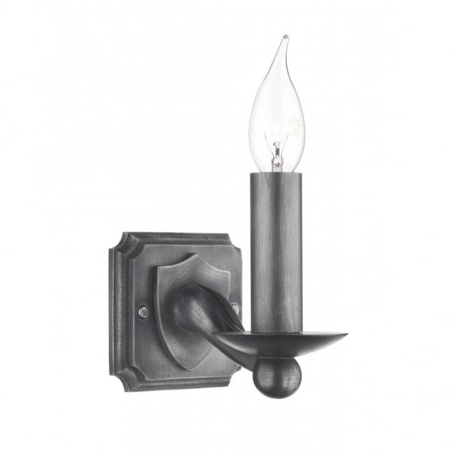 David Hunt Lighting WARWICK - Black Iron Wall Light