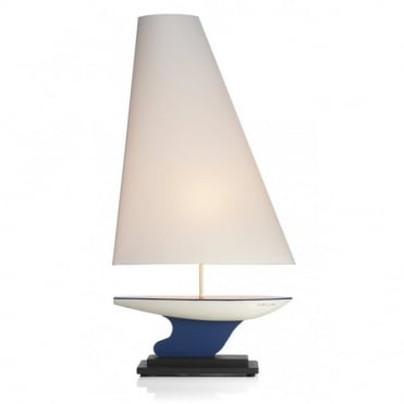 YACHT - Nautical Table Lamp and Sail Shade