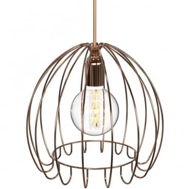 CAGE - Pendant E27 Copper