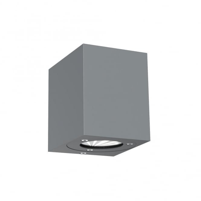 CANTO - LED IP44 Kubi Wall Light in Grey
