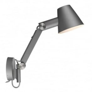 CULT - Adjustable Wall Light Grey with Switch