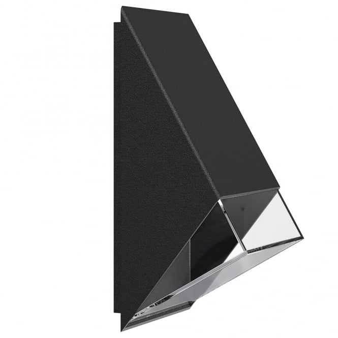 EDGE 100 - Modern Exterior Wall Light Black