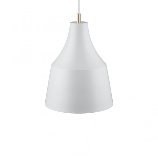 Design For The People GRACE 25 - Sleek Nordic Ceiling Pendant Grey