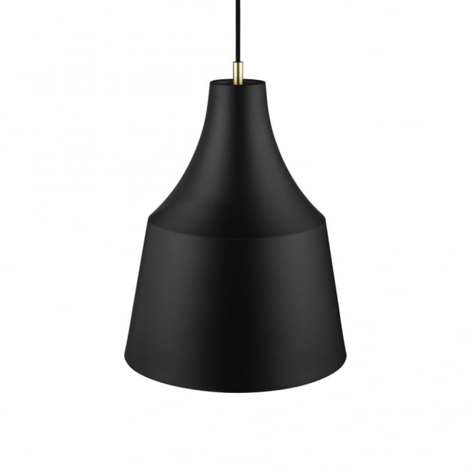 Design For The People GRACE 32 - Large Nordic Ceiling Pendant Black