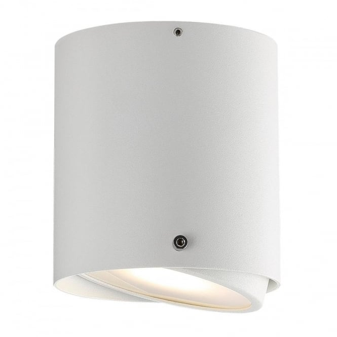 Design For The People IP S4 - Bathroom Cylindrical LED Surface Mounted Spotlight for Walls and Ceilings
