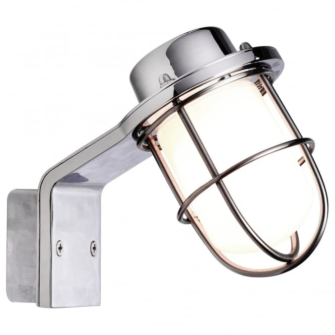 Design For The People MARINA - Industrial Bathroom Wall Light Chrome