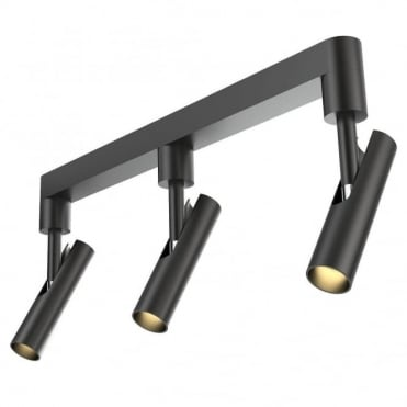 MIB 3 LED - Black Modern Ceiling Spot Bar, Perfect for Kitchens!
