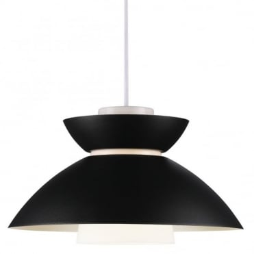MIRROR - Pendant E27 Black