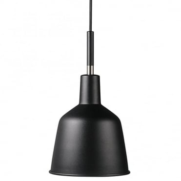 PATTON - Retro Ceiling Pendant Black