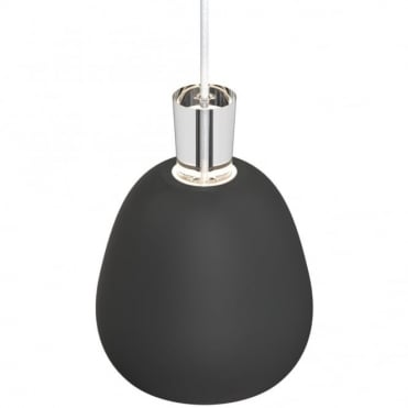 SHAPE-2 Matte Black Ceiling Pendant