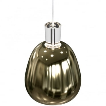 SHAPE-2 Polished Brass Ceiling Pendant