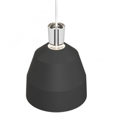 SHAPE-3 Matte Black Ceiling Pendant