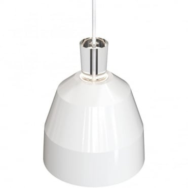 SHAPE-3 White Gloss Ceiling Pendant Light