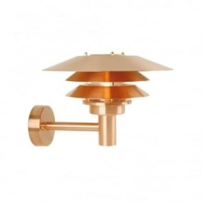 VENØ - Modern Exterior Wall Light in Copper
