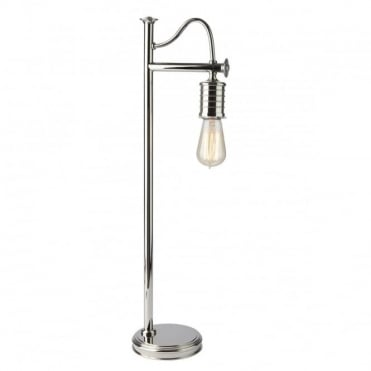 DOUILLE Vintage Table Lamp Polished Nickel