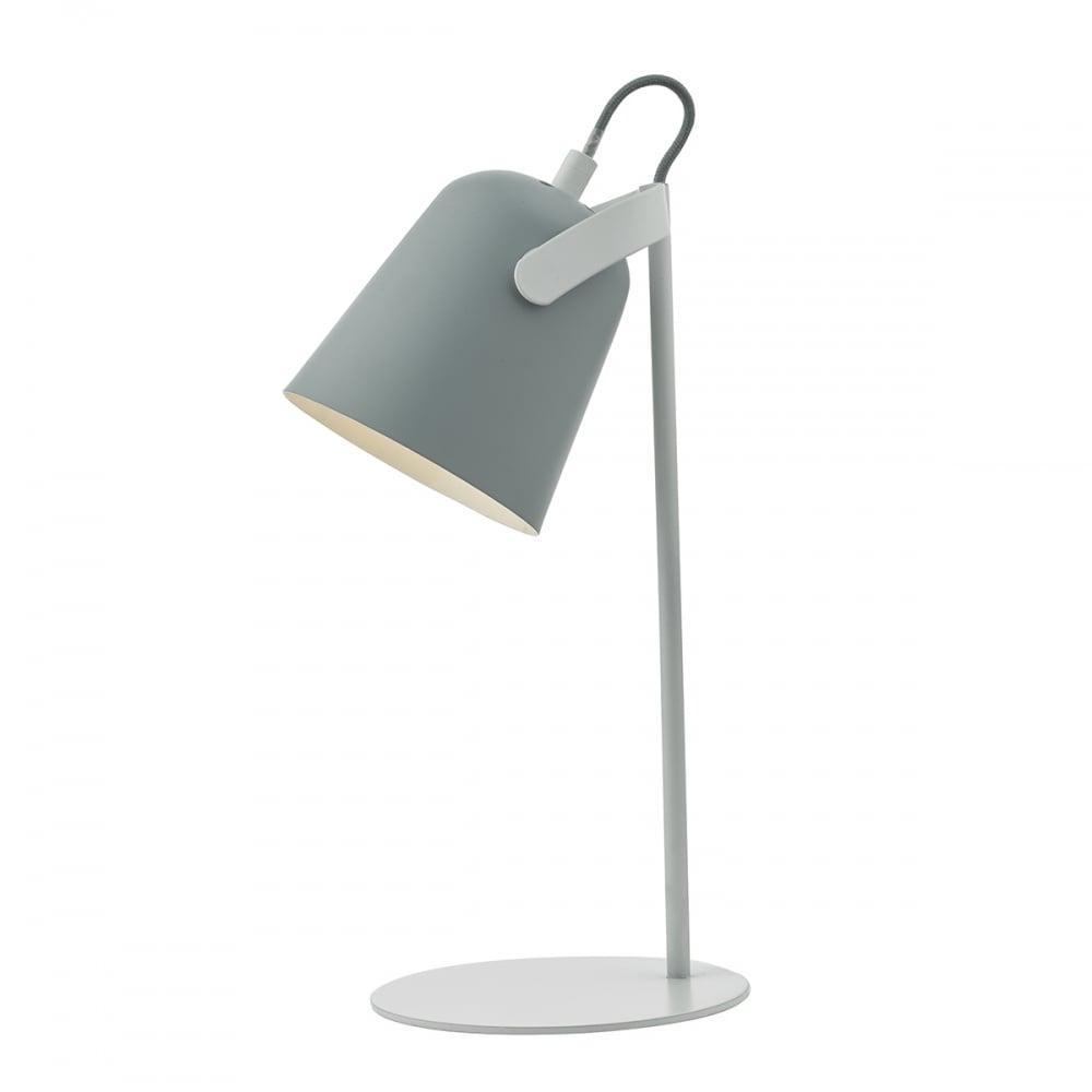 Ordinaire EFFIE   Grey White Table Lamp