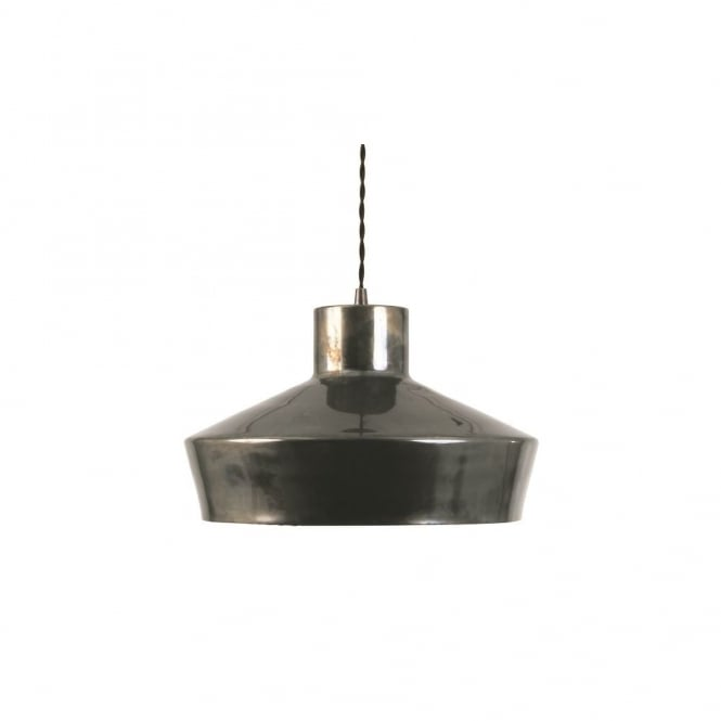 ELEGANCE - Brass Ceiling Pendant Light In Antique Silver