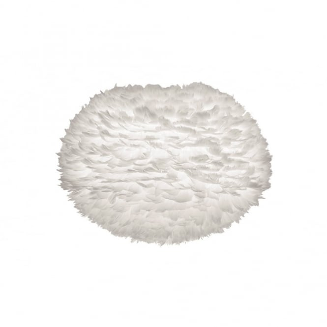 EOS - Feather Shade Large White 65Cm Dia