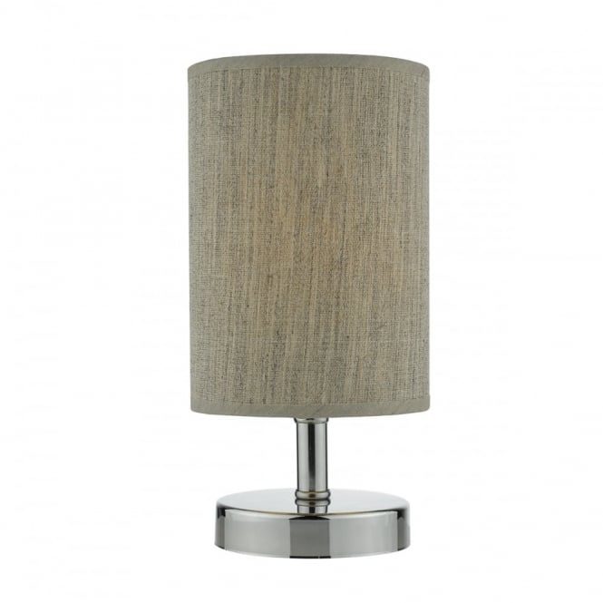 ERYN - Polished Chrome C/W Shade Touch Table Lamp