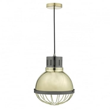 ETHAN - Gold and Nickel Ceiling Pendant Light