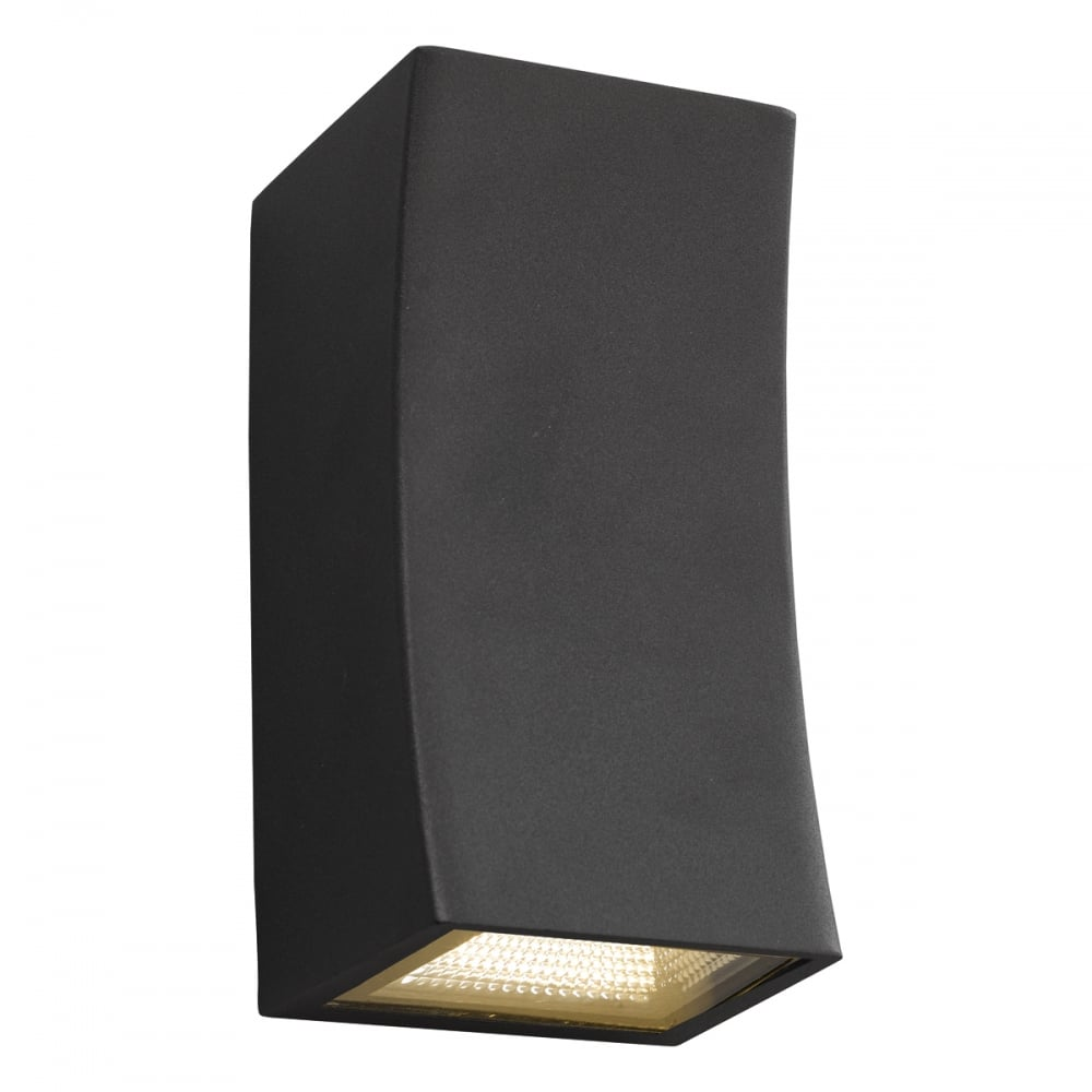 LED Exterior Wall Washer Dark Grey IP44 | Lighting and Lights UK