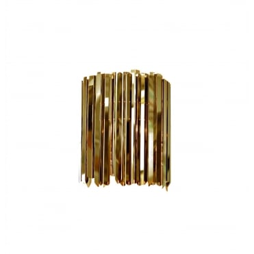 FACET - Luxurious Sparkly Wall Washer Light in Polished Brass