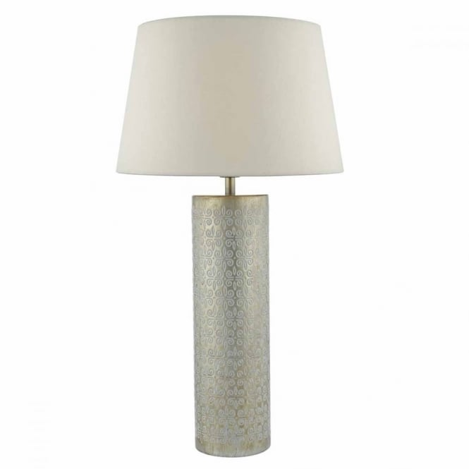 FADANA - Gold Table Lamp Base