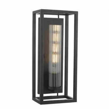 FELIPE - Wall Light Lantern Black